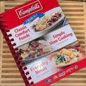 Campbell's 3 Books in 1 Cookbook